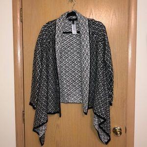 Women's Knit Asymmetrical Cardigan